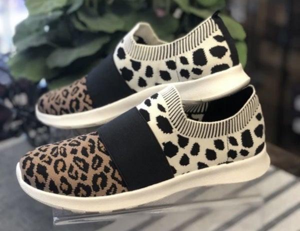 Jellypop Mixed Animal Print Sneaker
