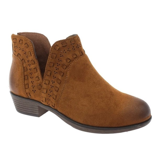 Kenzie Tan Ankle Boot