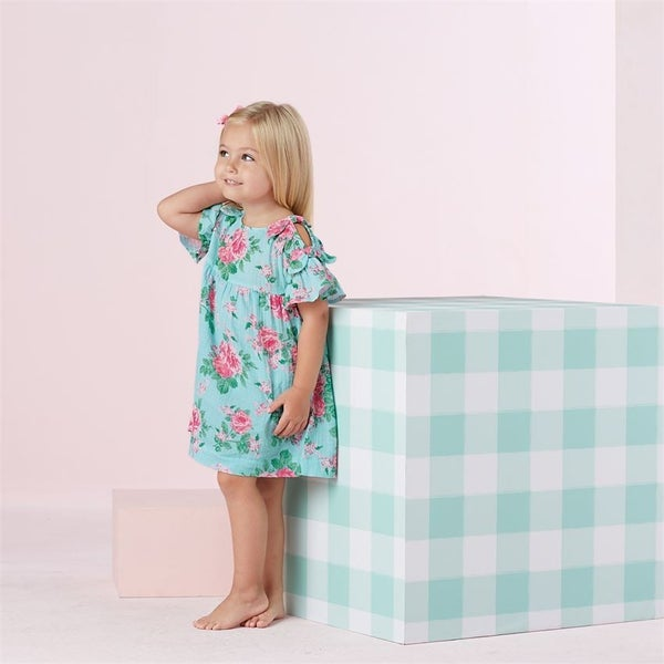 Mud Pie Rose Bow Dress