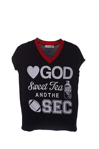 Love GOD, Sweet Tea, & the SEC