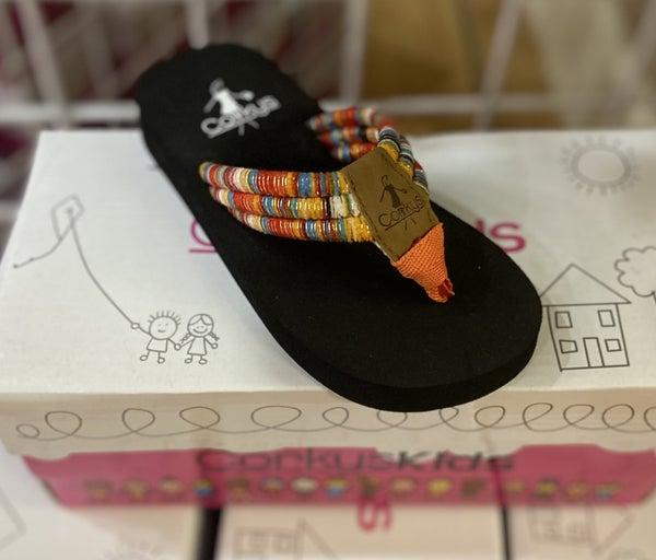 Girls Corkys Flip Flops- Karma