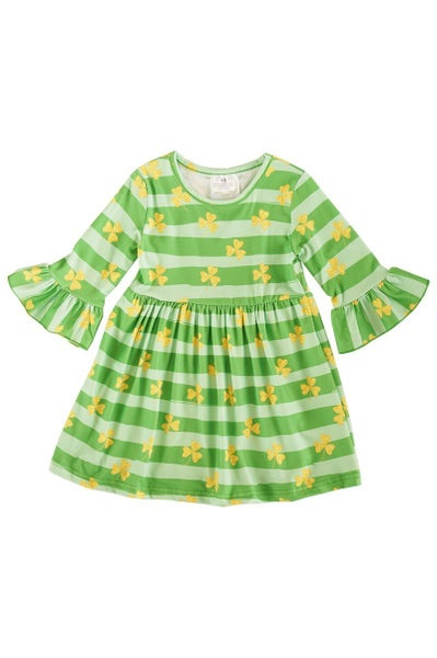 Green Shamrock Dress