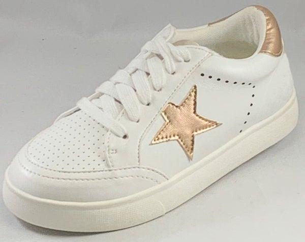 MIA Alanis Sneaker Rose Gold/White