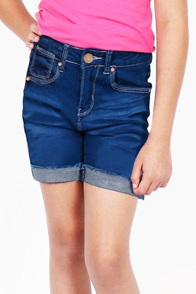 Tween Dark Denim Shorts