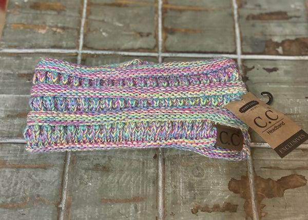 CC Beanie Rainbow Headband