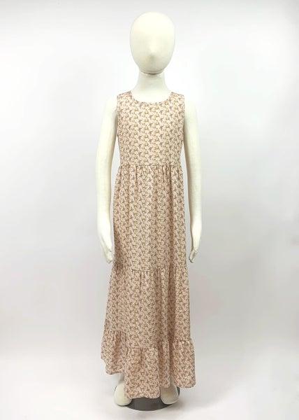 Tween Rose Tiered Maxi Dress