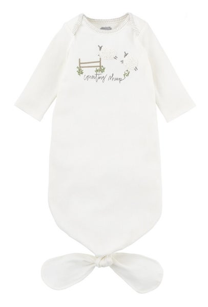 Mud Pie Counting Sheep Tie Gown
