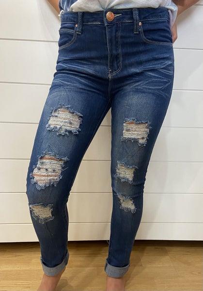 Tween Distressed/Ripped Jeans- Medium