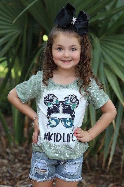 Green #KidLife Shirt