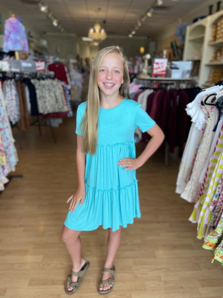 Mint Babydoll Dress