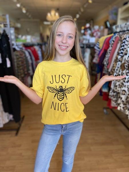 Just 'BEE' Nice T Shirt