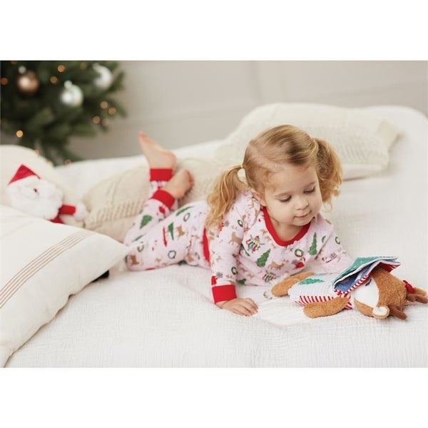 Mud Pie Girl's Christmas PJs