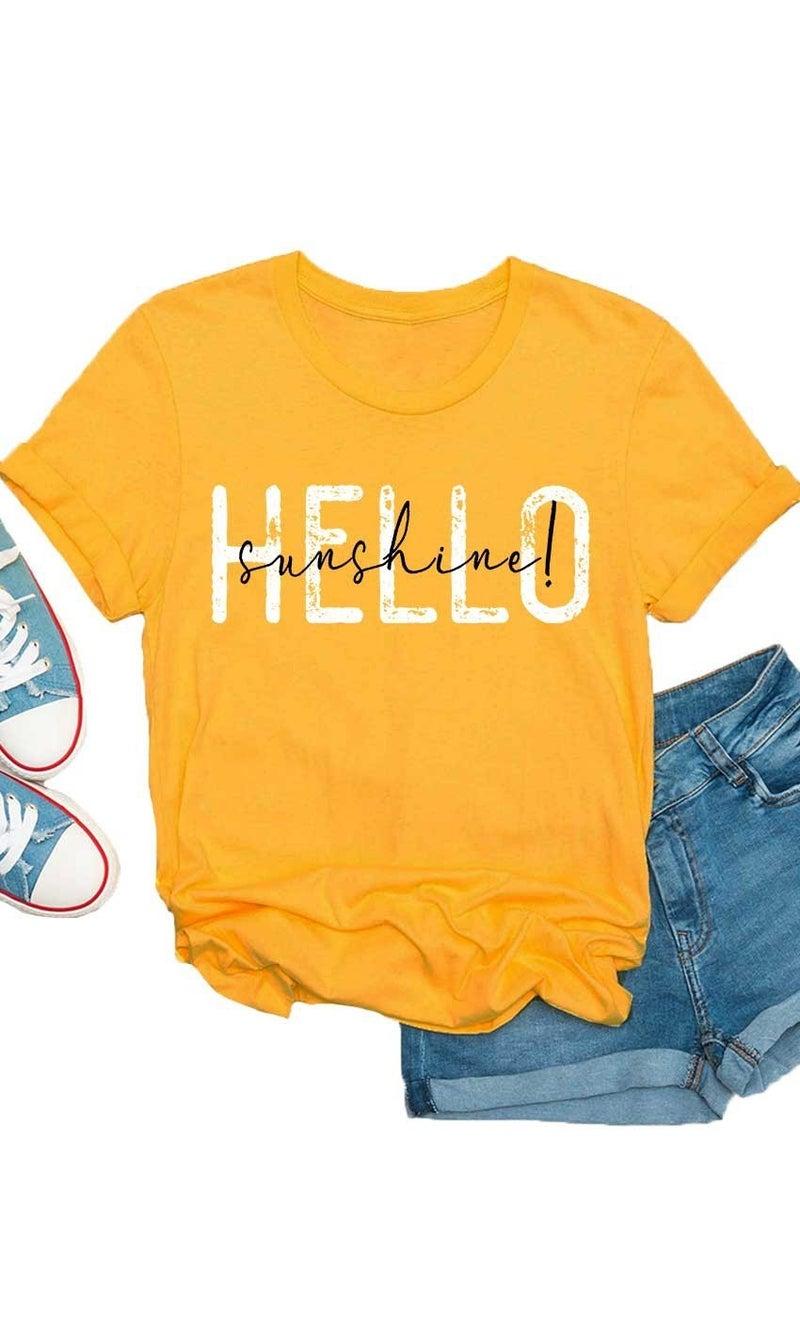 Hello Sunshine T Shirt