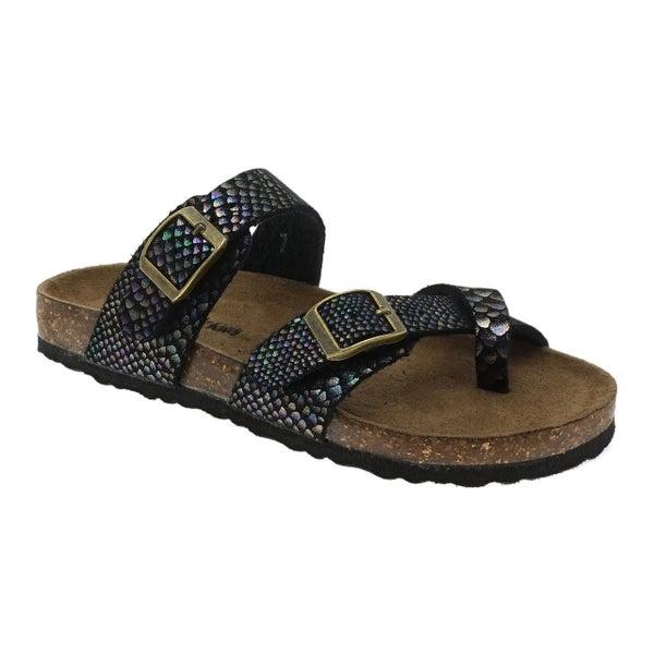 Mermaid Birkenstock Inspired Sandals
