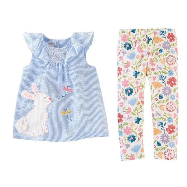 Easter Bunny Tunic & Leggings Set