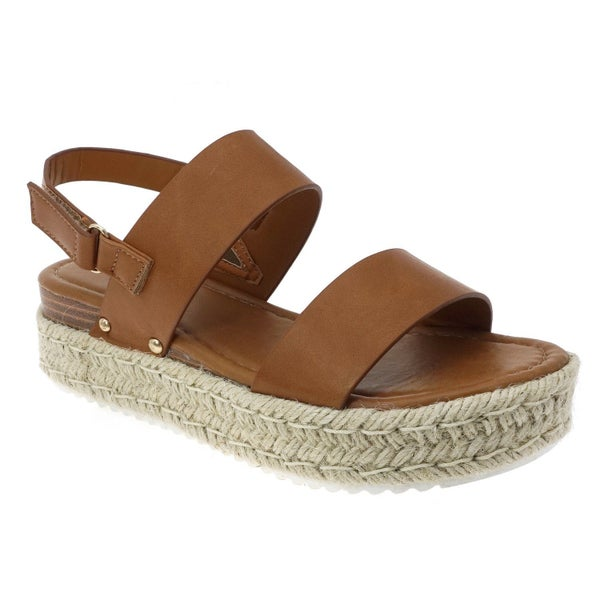 Tan Espadrille Sandals