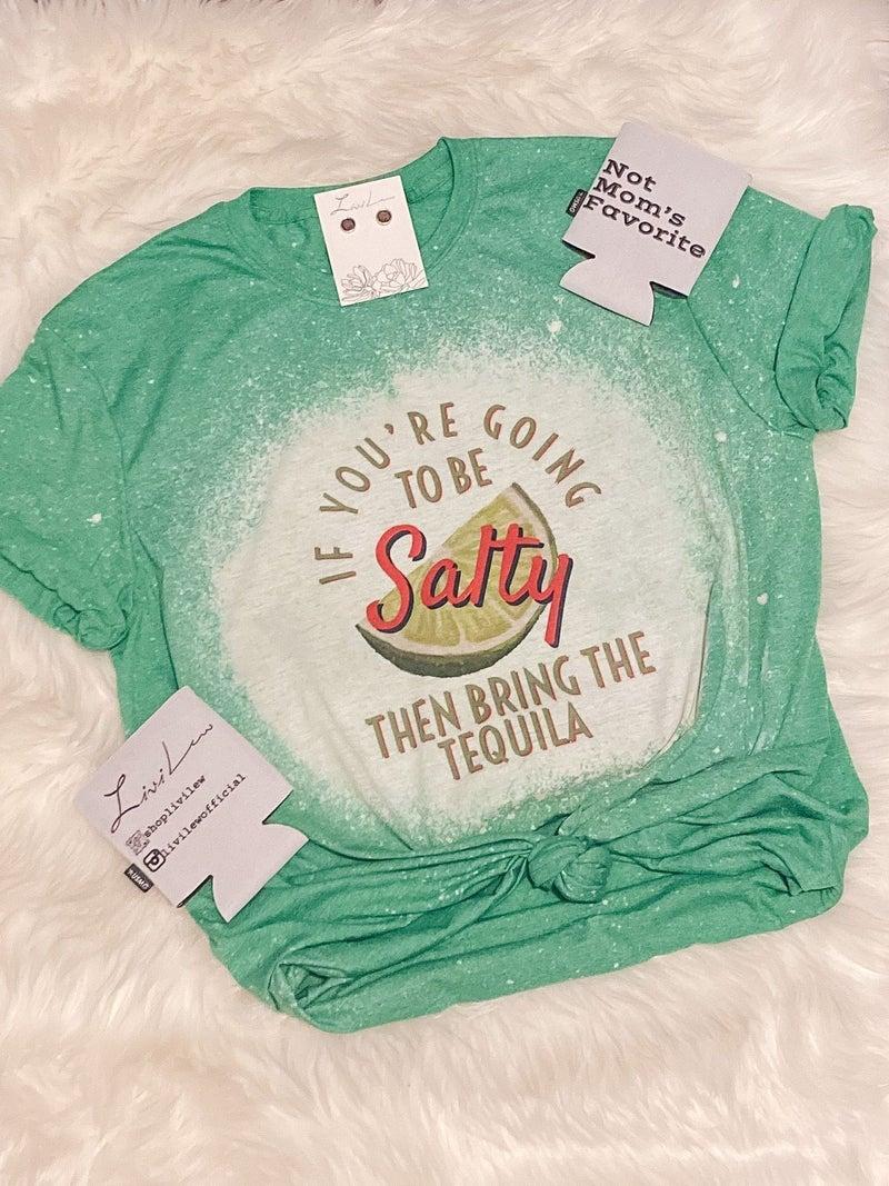 SALTY BLEACHED TEE