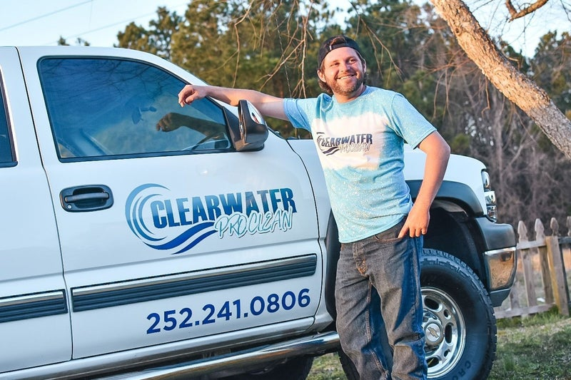 CLEARWATER ProClean BLEACHED TEE