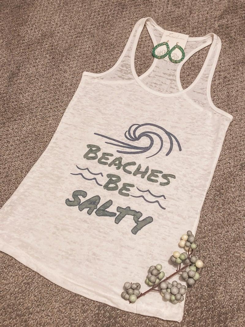 BEACHES BE SALTY TANK
