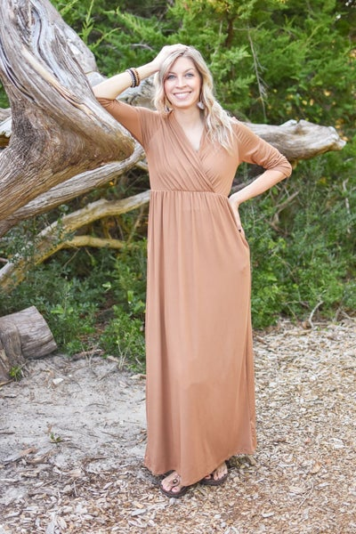 Coco Maxi Dress with Pockets