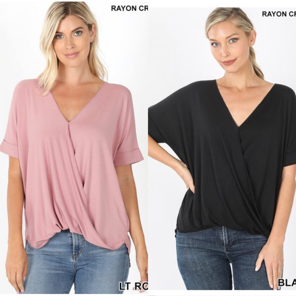 Faux tuck Top