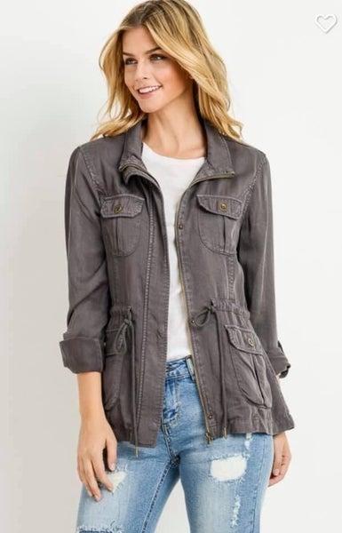 Grey Utility Jacket