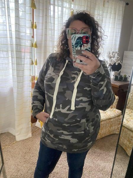 Dusty Camo lightweight hoodie