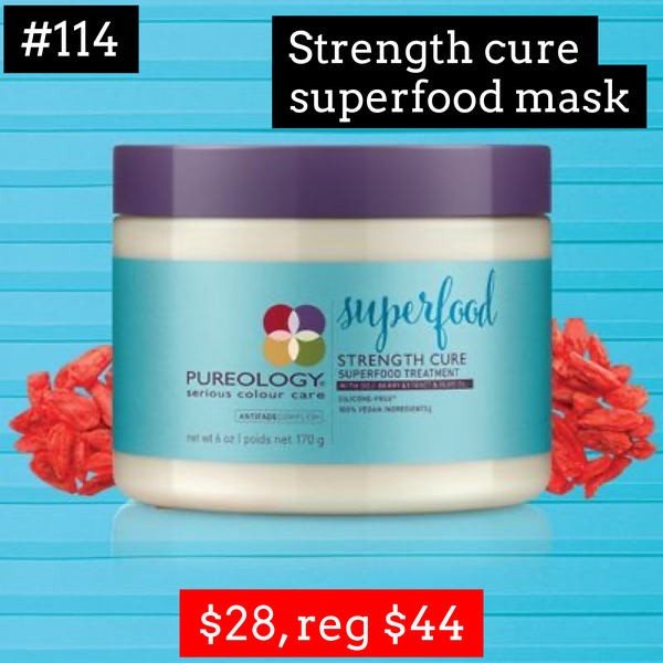 Pureology strength cure superfood mask