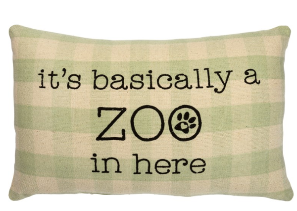 Pillow - It's Basically A Zoo In Here