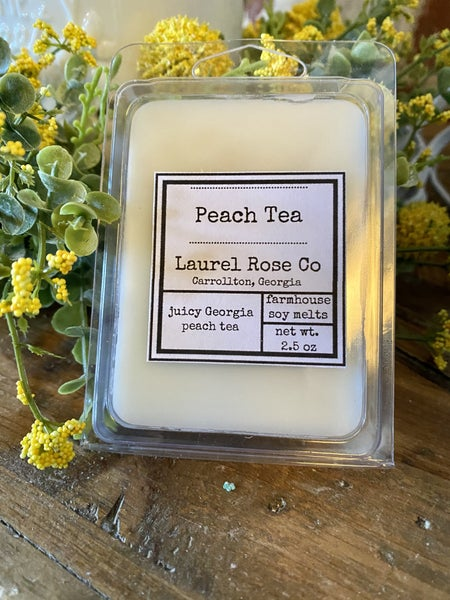 Wax Melt - Peach Tea
