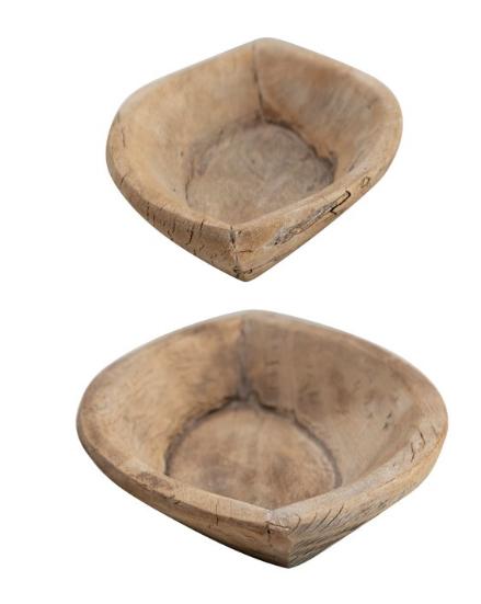 Decorative Reclaimed Wood Bowl