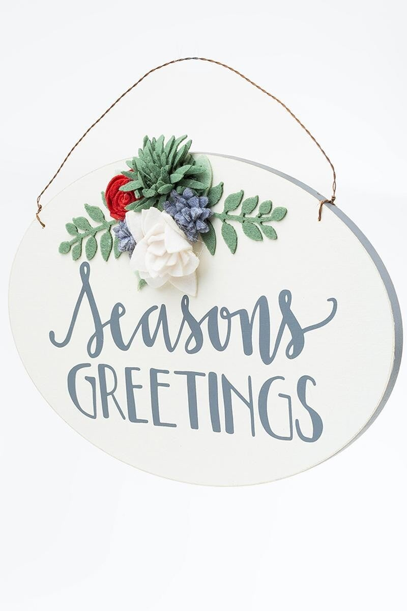 Wall Decor- Seasons Greetings