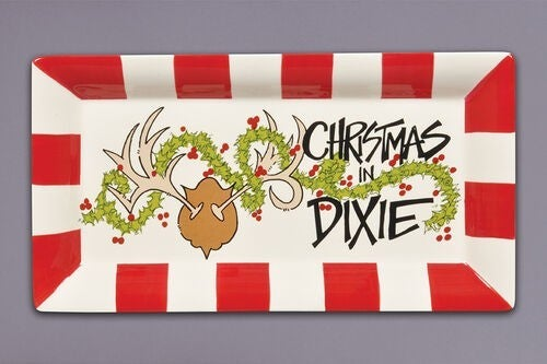 18.5″x10″ Christmas In Dixie Tray- LOCAL PICKUP ONLY