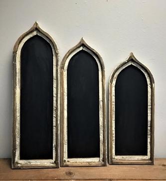 Matera Chalk Board Arch