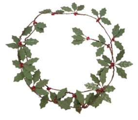 Garland - Holly Leaves