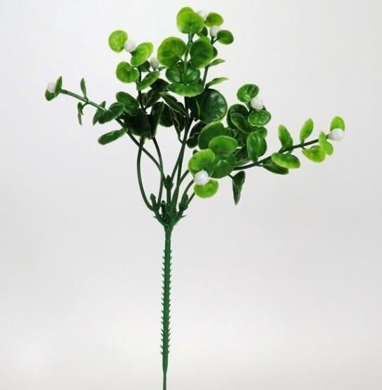Boxwood Pick w/ Berries- Set Of 6