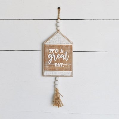 GREAT DAY BEAD SIGN