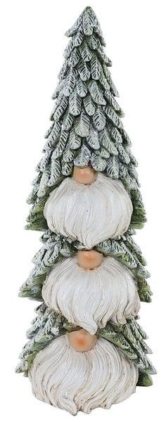 "10.5"" Resin Pine Gnome Stack"