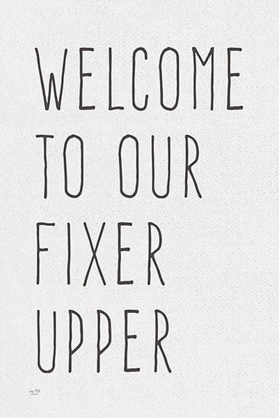 FIXER UPPER FRAMED PRINT