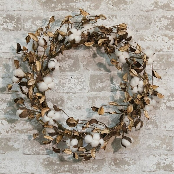"""Cotton with Shells 20"""""""