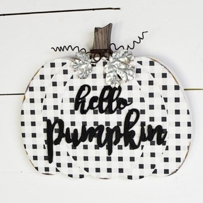 "12"" Hello Pumpkin"