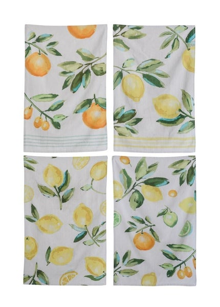 Citrus Fruit Tea Towel
