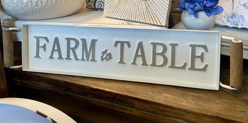 Enamel Farm To Table Tray