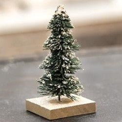 Primitive Snowy Tree- Small
