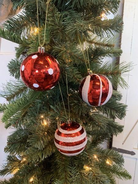 70MM Ornaments Set of 3