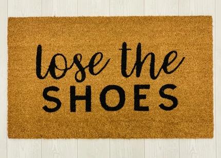 Lose Shoes Mat