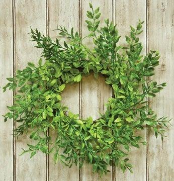 """Lemon Beauty Wreath, 9-1/2"""""""