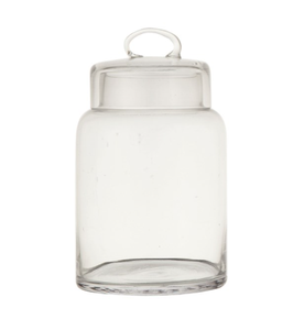 Large Glass Container w/ Lid