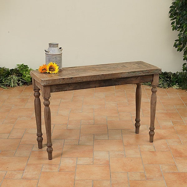 "47"" Wooden Antique Table-LOCAL PICK UP ONLY"