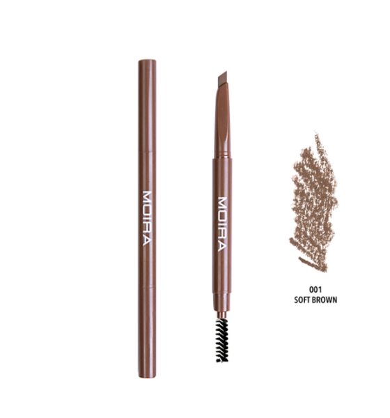 Dual Brow Pencil- Soft Brown